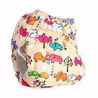 Baby Washable Cloth Diaper with Microfiber Insert Baby Diapers Reusable Cloth Nappy Suit