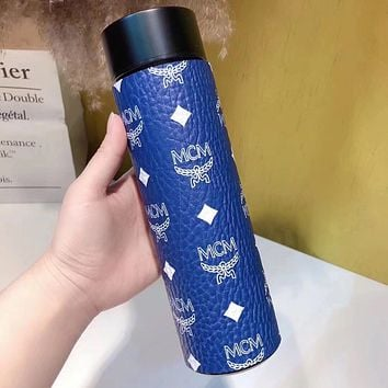 MCM Intelligent Digital Display Water Cup Temperature Measuring Thermos 304 Stainless Steel Male And Female Filter Tea Cup Thermos