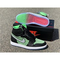 "Air Jordan 1 High Zoom ""Rage Green"" CK6637-002"