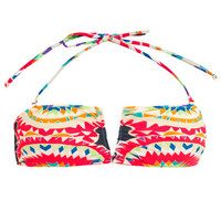 Pow Wow print bikini top | Mara Hoffman | MATCHESFASHION.COM