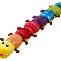 Cute Baby Soft Baby Rattle plush Caterpillar doll Baby Cartoon Funny Musical Mobiles Lovely Educational Toy long size pillow