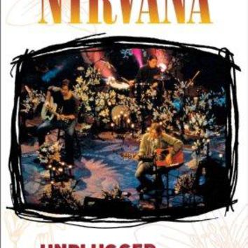 Nirvana Unplugged poster 11 inch x 17 inch