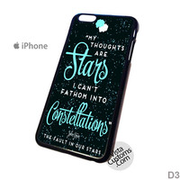 The Fault in Our Stars quotes 4 Phone Case For Apple,  iphone 4, 4S, 5, 5S, 5C, 6, 6 +, iPod, 4 / 5, iPad 3 / 4 / 5, Samsung, Galaxy, S3, S4, S5, S6, Note, HTC, HTC One, HTC One X, BlackBerry, Z10