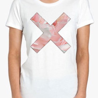 Pink X Coexist Screenprinted Apparel Brandy Melville Inspired Design Clothing Unisex Adults Women Tees