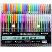 48 colors sketch marker pen painting art drawing writting stationery line pen kawaii fine liner drawing crafts pens set