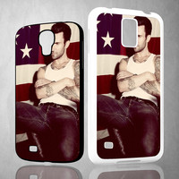 Adam Levine flag A1819 Samsung Galaxy S3 S4 S5 (Mini), Note 2 3 4, HTC One M7 M8 Cases
