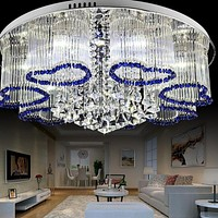 Crystal Round Luxury LED Ceiling Light