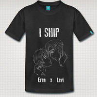 I Ship Eren x Levi Attack on Titan (Customize to your own favorite couple)