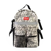 Back To School Stylish Comfort College On Sale Hot Deal Men Canvas Casual Simple Design Fashion Korean Backpack [11992377619]
