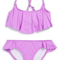 Girl's Billabong 'Sol Searcher' Two-Piece Swimsuit
