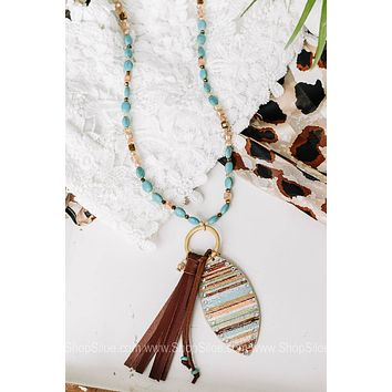 Westward Bound Beaded Necklace