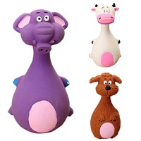 2017 Animal Shape Pet Puppy Dog Latex Chew Squeaker Squeaky Sound Playing Toys Mascotas Cachorro Chien Honden Hond Perros  New