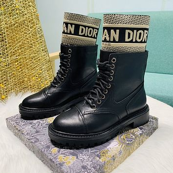 DIOR D-MAJOR ANKLE BOOT