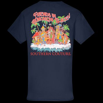 Southern Couture Classic Friends In Bungalow Places T-Shirt