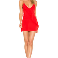 LPA Dress 252 in Lobster Red | REVOLVE