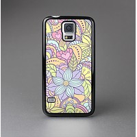 The Vibrant Color Floral Pattern Skin-Sert Case for the Samsung Galaxy S5
