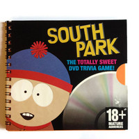 SOUTH PARK note book reworked Cd Box Free UK Postage with 70 plain rainbow pages Stan Kyle Cartman & Kenny