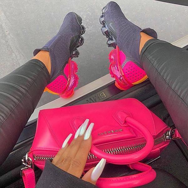 Image of Nike Air VaporMax Flyknit 2.0 Fashion Sneakers Sport Shoes