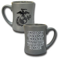"Steel Gray USMC ""This is my Coffee Mug"" Mug"