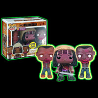 Halloweentown Store: The Walking Dead Michonne And Zombie Pets 3-Pack Pop! Set