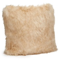 Ivory Bear Faux Fur Pillows by Fabulous Furs