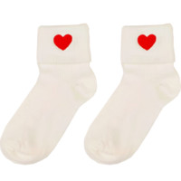 HEART FOLDED SOCKS