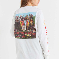Junk Food Beatles Lonely Hearts Long Sleeve Tee | Urban Outfitters