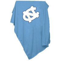 North Carolina Tar Heels NCAA Sweatshirt Blanket Throw
