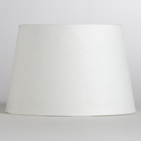 Solid Off-White Accent Lamp Shade - World Market