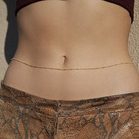 Tinkerbell Belly Chain