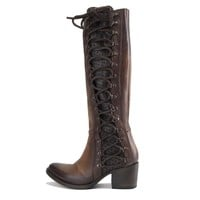 Freebird by Steven: Wyatt Cognac Tall Boots