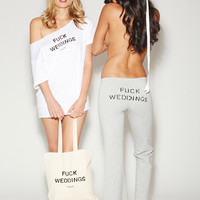 """Fuck Weddings"" Gear 
