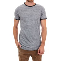 Robby Long Curved Ringer Tee