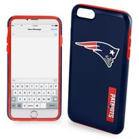 New England Patriots Impact Dual Hybrid AI6 Cover for iPhone 6 Plus Official NFL TPU 2-PIECE