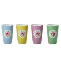 Cath Kidston - Provence Rose Placement Set of 4 Beakers