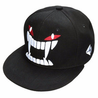 Men Women Hiphop Hat Adjustable Flat Snapback Baseball Dance Cap