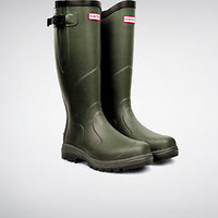 HUNTER BALMORAL CLASSIC DARK OLIVE WELLINGTON BOOTS EQUESTRIAN Welly Green