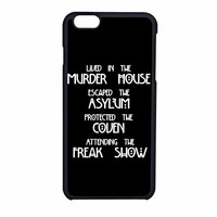 American Horror Story Four Seasons iPhone 6 Case