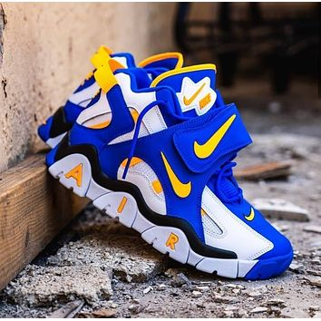 Nike Sneakers Sport Shoes Air Barrage MellowYellow
