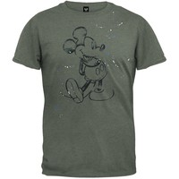 Mickey Mouse - Sketch Splatter Soft T-Shirt