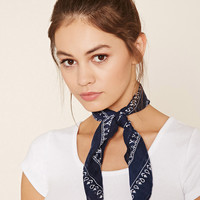 Square Paisley Scarf