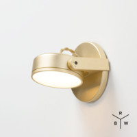 Monocle Wall Sconce - Dome Lens | Rich Brilliant Willing