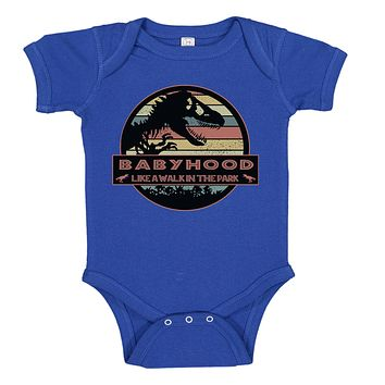Ink Trendz® BabyHood Like A Walk In The Park Baby One-piece Bodysuit