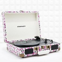 Crosley Cruiser Portable Turntable in Ditsy Print EU Plug - Urban Outfitters