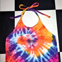 SWEET LORD O'MIGHTY! LIL OG TIEDYE HALTER