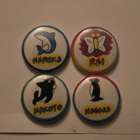 Free! Iwatobi Swim Club Buttons!