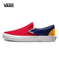 Vans Slip-On Woman Men Canvas Old Skool Flats Sport Shoes
