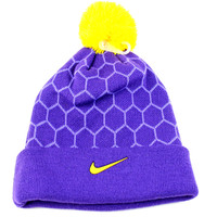 Nike Kobe Pom Pom Boy's Purple/Yellow Beanie Hat