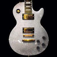 Custom Gibson Guitar Les Paul made w Swarovski Elements