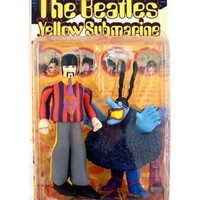 "The Beatles Yellow Submarine RINGO STARR with Blue Meanie 8"" Action Figure (1999 McFarlane)"